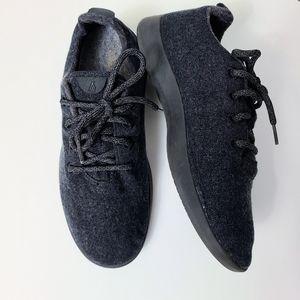 Allbirds Charcoal Black Gray Wool Runners Sneakers